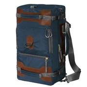 Сумка-рюкзак Aquatic С-27С с кожаными накладками цвет синий