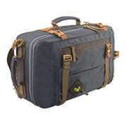 Сумка-рюкзак Aquatic С-28ТС с кожаными накладками цвет темно-серый