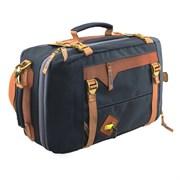 Сумка-рюкзак Aquatic С-28С с кожаными накладками цвет синий