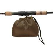 Чехол Aquatic Ч-35К для катушки цвет коричневый