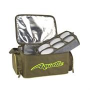 Термо-сумка Aquatic С-43 с 12-ю банками 32х23х21см хаки