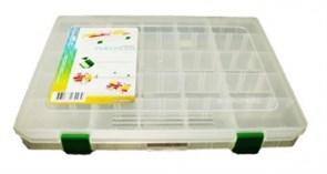 Коробка для Приманок Fisher Box 310B 4 Продольные Перегородки 310x230x55мм