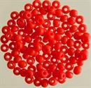 Бисер Рыболовный красный непрозрачный 2,3мм