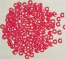 Бисер Рыболовный красный прозрачный глянцевый 2,1мм