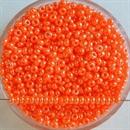 Бисер Рыболовный оранжево-розовый непроз глянцевый 2,9мм