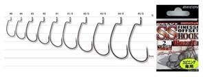 Крючки Офсетные Decoy S.S.Finesse Offest Hook Worm 19 #1 9шт/уп