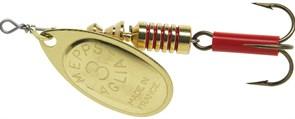 Блесна Вращающаяся Mepps Aglia OR №5 13,0гр Gold
