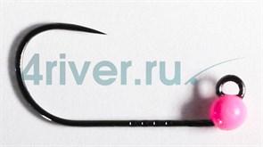Джиг-головка Вольфрамовая Крючок Decoy Безбородый АН-12 №6 0,4гр Розовая 5шт/уп