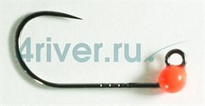Джиг-головка Вольфрамовая Крючок Decoy Безбородый АН-12 №6 0,2гр Оранжевая 5шт/уп