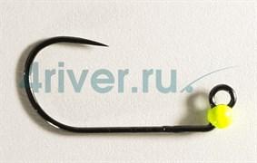 Джиг-головка Вольфрамовая Крючок Decoy Безбородый АН-12 №6 0,2гр Жёлтая 5шт/уп