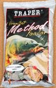 Прикормка Traper Method Feeder Miod (Метод Фидер Мёд) 750гр