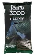Прикормка Sensas 3000 Carp Noire Карп Черная 1кг