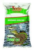 Прикормка Sensas 3000 Club Bremes Brune  Лещ Коричневый 1кг