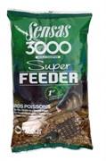 Прикормка Sensas 3000 Super Feeder Big Fish Крупная Рыба 1кг