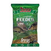Прикормка Sensas 3000 Super Feeder Carp Карп 1кг