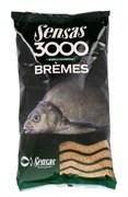 Прикормка  Sensas 3000 Bremes Лещ 1кг