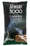 Прикормка  Sensas 3000 Carp Extra Grosse Крупный Карп 1кг