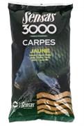 Прикормка  Sensas 3000 Carp Jaune Карп Жёлтая 1кг