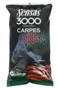 Прикормка  Sensas 3000 Carp Rouge Карп Красная 1кг