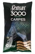 Прикормка  Sensas 3000 Carp Карп 1кг
