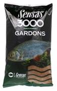 Прикормка  Sensas 3000 Gardons Плотва 1кг