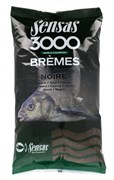 Прикормка  Sensas 3000 Super Bremes Noir Супер Лещ Чёрный 1кг
