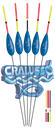Поплавок Cralusso Capri Фибергласовый Киль 0,3гр