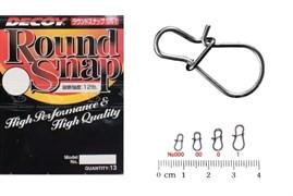 Застежка-американка Decoy Round Snap SN 1 #000 12Lb 6кг 13шт/уп