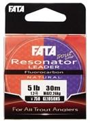 Флюорокарбон Gosen Fluoro Carbon 100% Fata Resonator 30м #0,5 2Lb 0,117мм