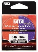 Флюорокарбон Gosen Fluoro Carbon 100% Fata Resonator 30м #1 4Lb 0,165мм