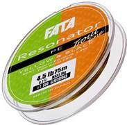 Плетеная леска Gosen 4PE Fata Resonator #0,3 3,2кг 75м