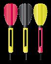 Набор Антенн Cralusso Dart Antenna Set 3шт/уп