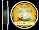 Леска Cralusso Xtreмe Braid Hooklength 15м 0,14мм