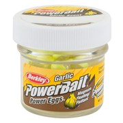 Икра Berkley PowerBait Floating Salmon Eggs Fluo Yellow с запахом чеснока