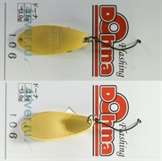 Kолеблющаяся Блесна Anglers System Dohna 2,5гр #106