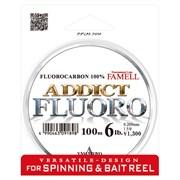 Леска флюорокарбон Yamatoyo Addict Fluoro 100м #0.8 3lb/0,151мм
