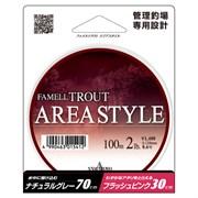 Леска Yamatoyo Area Style Trout 100м #0.6 2Lb 0,128мм