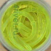 Мягкая приманка Neon 68 Лапша Доширак 9см 12шт/уп Сыр 3D Лимонный