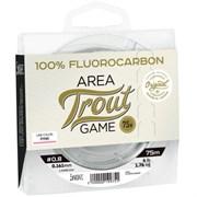 Флюрокарбон Lucky John Area Trout Game Fluorocarbon Pink 75м 0.18мм 2,2кг