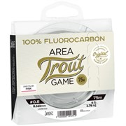 Флюрокарбон Lucky John Area Trout Game Fluorocarbon Pink 75м 0.20мм 2,8 кг