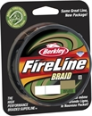 Плетеный Шнур Berkley Fire Line Braid Green 39LB, 0.18мм 110м